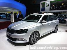 skoda fabia combi limited edition front three quarter view