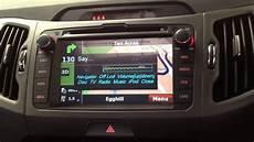 Kia Sportage Custom Navi With Voice Activation