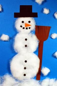 schneemann basteln weihnachten schneemann basteln mit