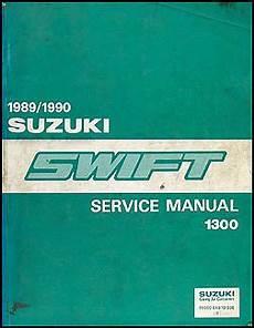 how to download repair manuals 1990 suzuki swift regenerative braking 1989 1990 suzuki swift 1300 repair shop manual original