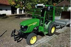 deere 2720 kleintraktor mit 31ps 3 zyl diesel