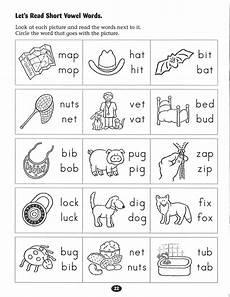 let s read short vowel words worksheet english worksheets for kindergarten kindergarten