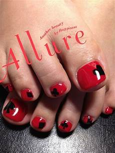 10 red toe nail art designs ideas trends stickers 2014