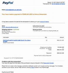 paypal receipt template paypal phishing scam secure ud threat alerts