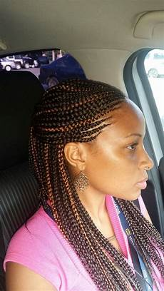 Hairstyle Cornrow Braids