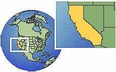 fuseau horaire los angeles los angeles californie 201 tats unis carte de localisation