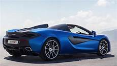 2018 New Blue Mclaren 570s Spider