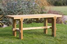 rebecca wooden garden table garden furniture land