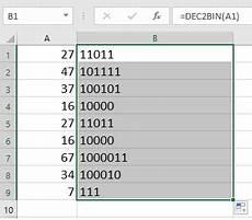 decimal exles worksheet 7120 how to convert decimal number to binary octal hex number or vice versa in excel