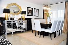 White And Gold Home Decor Ideas by Black And Gold