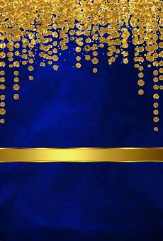 Wallpaper Blue And Gold