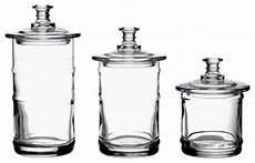 glass kitchen canisters la rochere glass kitchen storage jars traditional