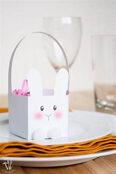 free printable bunny easter baskets a houseful of handmade