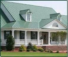 green roof what color should you paint your metal green roof home