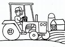 Ausmalbilder Bagger Traktor Ausmalbilder Traktor 1 Ausmalbilder