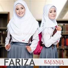 Jual Jilbab Sekolah Fariza Rafania Kerudung Jilbab Syari