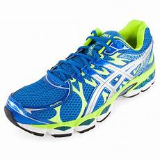 asics s gel nimbus 16 running shoes island blue