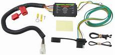 Curt T Connector Vehicle Wiring Harness With 4 Pole Flat