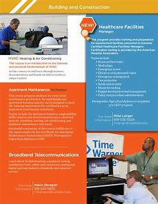 How To Become Apartment Maintenance Technician by Tech Continuing Education Course Digest Brochure
