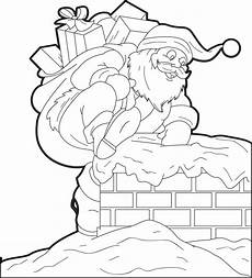 free printable santa claus coloring page for 4
