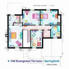 the simpsons house floor plan quot the simpsons quot floor plan 2nd floor if you ever wanted