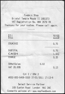 reclaiming 75p for a receipt less crunchie the