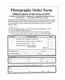 sle photography order form 10 exles in word pdf