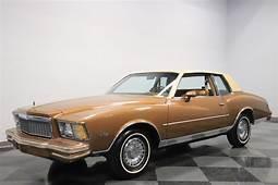 1979 Chevrolet Monte Carlo For Sale 80785  MCG