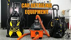 mobile auto equipment for auto detailing pressure washer vacuum and