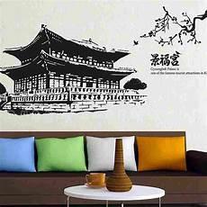 Korean Wall Stickers dctal gyeongbokgung palace decal landmark korea wall