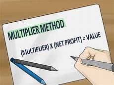 den marktwert einer firma berechnen wikihow