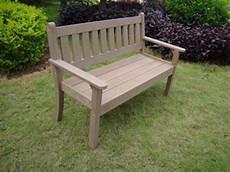 banc de jardin en resine banc brown bench r 233 sine aspect bois fonc 233 2 places