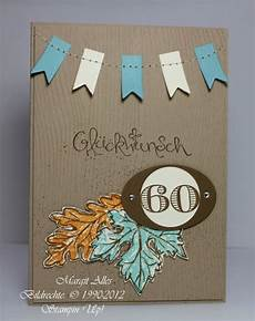 Geburtstagskarte 60 Basteln - geburtstagskarte zum 60 geburtstag margits schatztruhe
