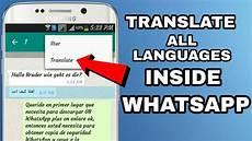 translation to whatsapp message translate in all language inside whatsapp