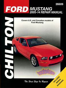 car repair manuals online free 2001 ford mustang electronic throttle control shop manual mustang service repair chilton ford book gt haynes ebay
