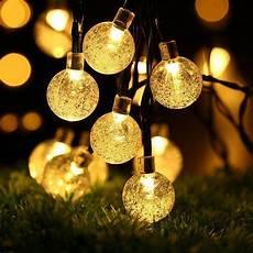30 led solar lichterkette party lichterkette garten