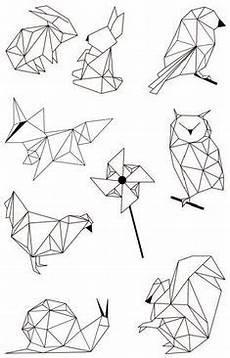 malvorlagen kunsttherapie tiere polygonal ausmalbilder