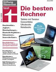 Stiftung Warentest Notebooks - stiftung warentest 01 2018 187 pdf magazines