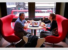 To Woo Europeans, McDonald?s Goes Upscale   The New York Times