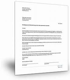 kündigung ohne mietvertrag muster k 252 ndigung mieter gt vermieter muster