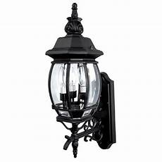 capital lighting country black outdoor wall light 9863bk destination lighting