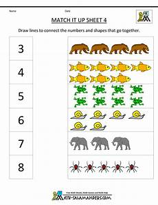 maths addition worksheet for kindergarten 9339 kindergarten math worksheets match it up 4 gif with images kindergarten math worksheets