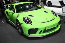 2019 porsche gt3 rs 2019 porsche 911 gt3 rs revealed priced from 188 550