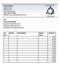 blank hotel receipt books hotel receipt template receipt template invoice sle invoice