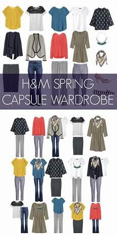 capsule wardrobe capsule wardrobe from h m