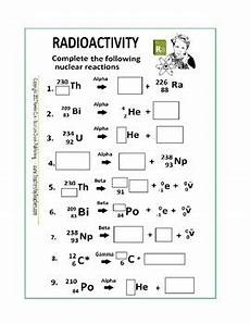 physical science radioactivity worksheet 13172 radioactivity worksheet or quiz by scorton creek publishing kevin cox
