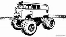 Truck Malvorlagen Gratis Vw Monstertruck Gratis Ausmalbild