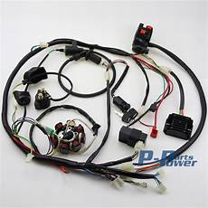 go kart gy6 wiring harness buggy wiring harness loom gy6 engine 150cc atv electric start stator 8 coil go kart kandi