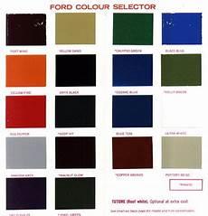 ford paint colour codes australia 1970 s ford paint charts retro rides