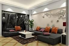 Home Decor Ideas With Black Sofa by Decor With Black Sofas Blue Rug Black Sofa